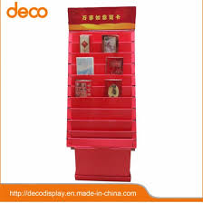 Greeting Card Display Stands Cardboard Impressive China Paper Display Cardboard Pop Display Greeting Card Display
