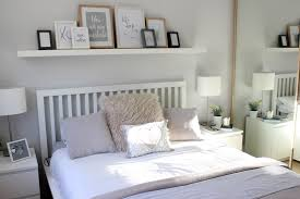 grey bedroom white furniture. Grey Walls White Furniture Dulux Polished Pebble. Minimal Scandi Bedroom D
