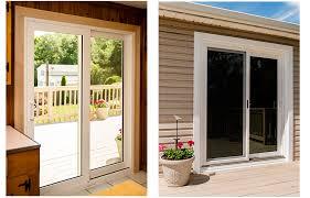 makeover alum patio doors