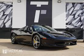 The name of the 458 is derived from its engine. Used 2014 Ferrari 458 Spider For Sale 207 900 Tactical Fleet Stock Tf1294