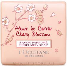 "<b>L'Occitane Cherry Blossom</b> Perfumed <b>Soap</b> - <b>Мыло</b> ""Вишнёвый ..."