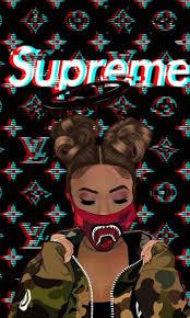 Supreme gang ^~^ | Supreme wallpaper, Hype wallpaper, Girly art