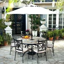 patio furniture round table outdoor patio furniture with fire pit fire pit table with umbrella fire pit table with umbrella hole