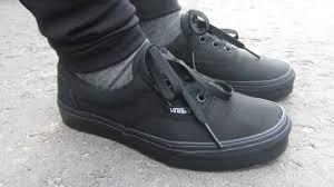 vans all black. Посылки с ebay | vans authentic era vn-0qfkbka black и vn-0ee3bka nib all - youtube