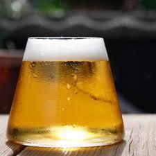 bar party fujiyama glass cup double wall beer wine drinking cups tea mug