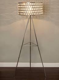 sparkly floor lamp brass floor lamps crystal floor lamp