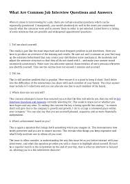How To Answer Job Interview Questions Typical Job Interview Questions Magdalene Project Org