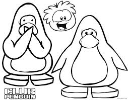 Coloring Page Kids Club Penguin Coloring Pages Coloring Pages Kids N