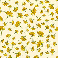cute flower pattern wallpaper. Wonderful Wallpaper Seamless Cute Floral Pattern Yellow Flower Wallpaper Vector Background  Illustration Stock  104184862 Inside Cute Flower Pattern Wallpaper A