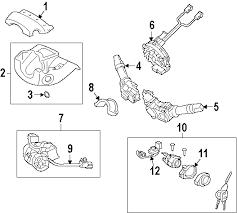 parts com® hyundai sonata steering column assembly oem parts diagrams 2011 hyundai sonata limited l4 2 4 liter gas steering column assembly