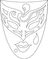 Maschere Di Carnevale Da Colorare Con Disegni Maschere Di Carnevale