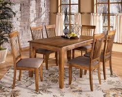 Ashley Kitchen Furniture Berringer D199 Rectangular Dining Room Table And 6 Side Chairs