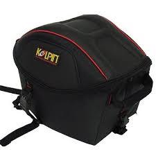 Motorcycle Luggage Rack Bag Adorable Luggage Rack Helmet Bag By Kolpin 32 Ships Save Big EBay