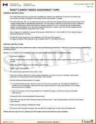 Needs Assessment Example needs assessment example sop example 1