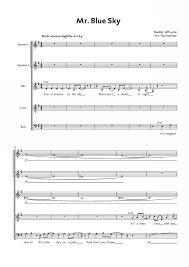 mr blue sky piano sheet music free tijs krammer