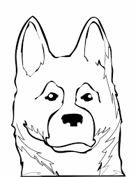 Small Picture Dog Boxer Coloring Pages Of Dogs Dog Coloring Page Free Printable