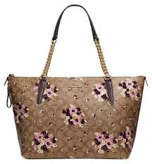 ... 50% off coach tote in khaki multi light gold f9987 388ff ...