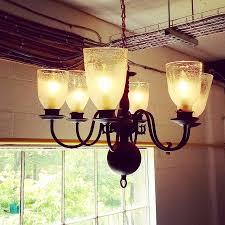 studio vine glass we re do old chandeliers