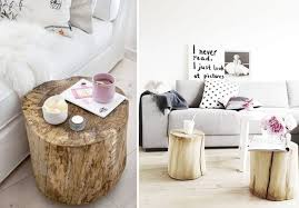 diy home inspo tree stump coffee tables