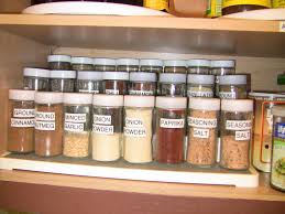 To Organize Kitchen How I Organized The Spice Cabinet To Make It Easier To Cook Youtube