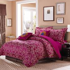 juliet printed 7 piece bedding set