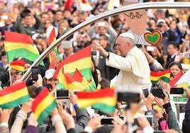 Resultado de imagen para el papa en bolivia