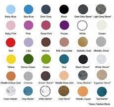 Colour Touch Colour Chart The Craft Studio Colour Chart