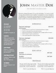 Resume Template Formidable Cv Sample Doc Filetype Pdf In Canada