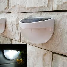Solar Led Garden Lights Ebay Led Solar Power Garden Lights Outdoor Fence Lamp Light White Ebay