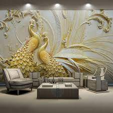 Custom Mural Wallpaper For Walls 3D ...