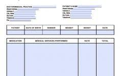 Medical Invoice Pdf Free Medical Invoice Template Excel Pdf Word Doc Billing Resume Bill