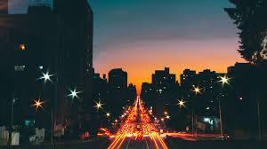 Night Backgrounds Stars City ...