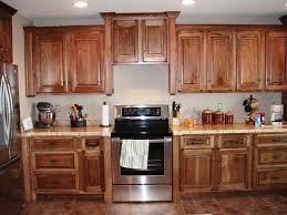Unfinished Kitchen Furniture Kitchen Design Wonderful Kitchen With Hickory Kitchen Cabinet