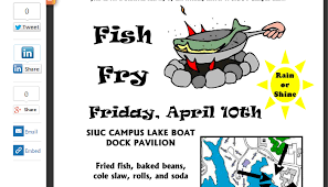 Fish Fry Flyer Microsoft Office 5 Fish Fry Flyer Templates Af Templates