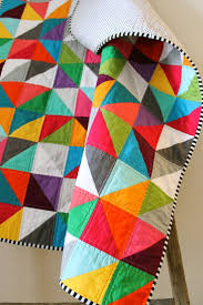 107 best Rainbow quilts images on Pinterest | Molde and Prints & Rainbow baby quilt. I really like the stripped binding! Adamdwight.com
