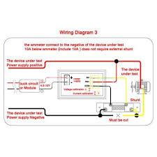 vktech dc 0 100v voltmeter ammeter 10a red led panel amp digital vktech dc 0 100v voltmeter ammeter 10a red led panel amp digital volt gauge yb27va voltage testers amazon com