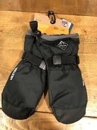 Details About New Hestra Czone Junior Ski Mitten Gloves Size 3 Black 4 5 Years
