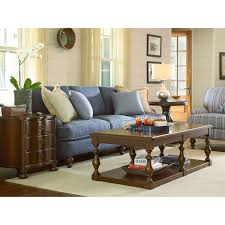 Paula Deen Living Room Furniture Collection Paula Deen Furniture 393807 River House Chair Side Table