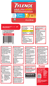 Tylenol Cold And Flu Severe Dosage Chart Tylenol Cold Plus Flu Severe Day And Tylenol Cold Plus Flu