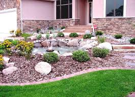 Small Picture Download Low Maintenance Landscaping Ideas Front Yard Solidaria