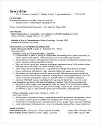 Sample Guidance Counselor Resume - 8+ Free Documents Download In pertaining  to Elementary School Counselor