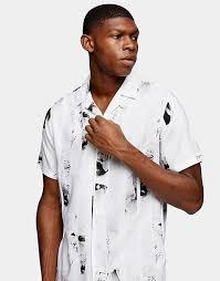 Men's Printed Shirts   <b>Print</b> Shirts For Men   ASOS