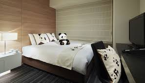the star of ueno zoo has arrived at our hotel with this pandouble room you can enjoy a double room featuring our panda room motif