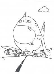 Vliegtuig Kleurplaten