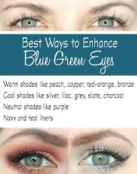 best eyeshadows to enhance blue green eyes blue green eyes eye colors and green eyes