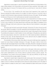 Argumentative Essay Outline Examples Bitacorita