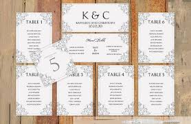 Table Seating Templates Wedding Seating Chart Template Alma Seating Charts Seating