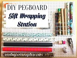wrapping station wrapping paper storage inspirational leopard and plaid gift wrapping pegboard station gift wrapping station wrapping station