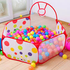 ball tent. outdoor/indoor foldable kids children game tent portable ocean ball pit pool toy | lazada ph t