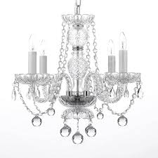 wynn 4 light crystal chandelier feature plug in kit not included upc 192263180190